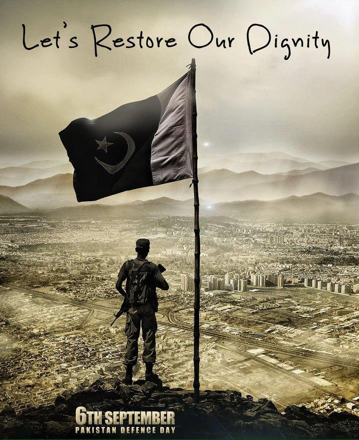 Let's Restore Our Dignity