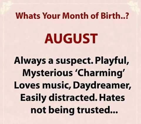 august.