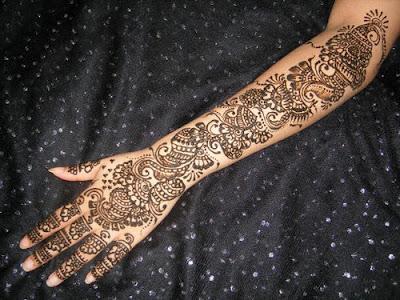 Beautiful Arabic Mehndi Designs For Hands k.