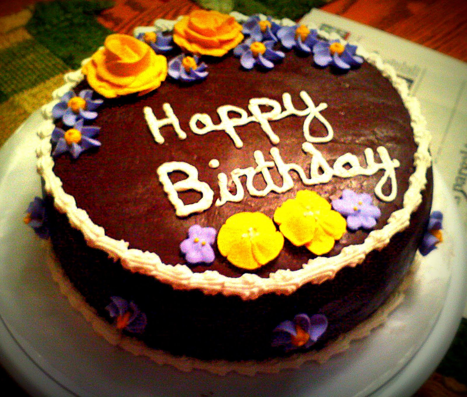 Flower Birthday Cake Recipes