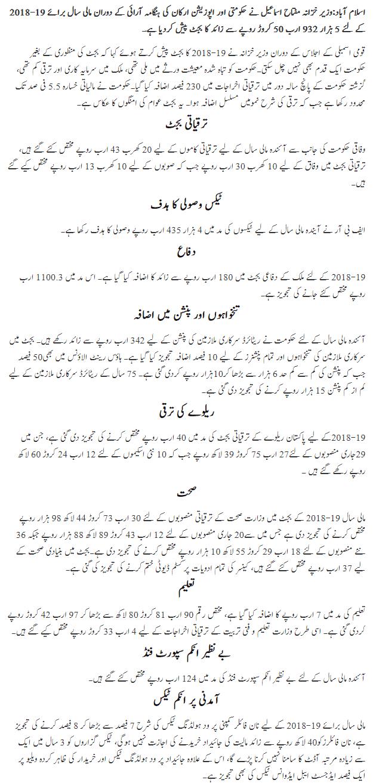Budget-2018-2019-in-Urdu-page1.
