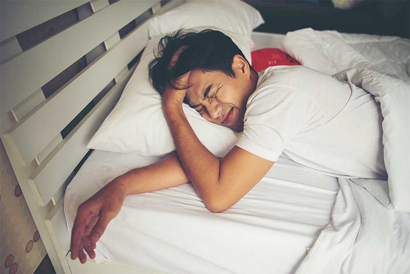 Can't sleep... because veins are hard - Vein disease makes sleeping difficult