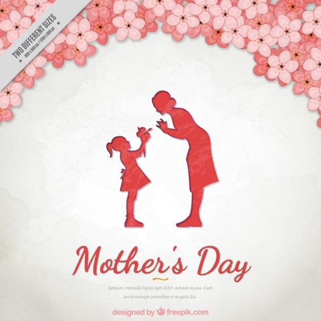 floral-background-of-mother-s-day-with-a-lovely-scene-between-mother-and-daughter_23-2147548438.