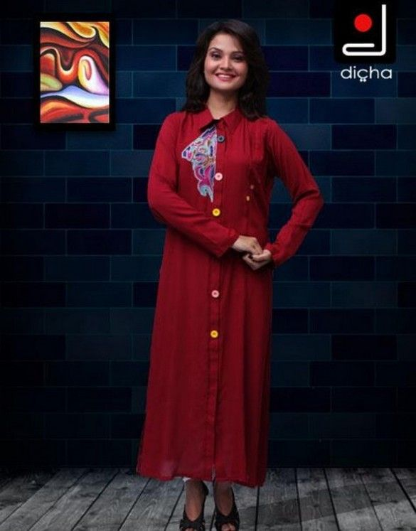 Girls-Kurta-Designs-2013-Ladies-Summer-Kurta-Fashion-11.