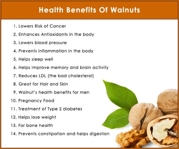 health benefits of akhrot.