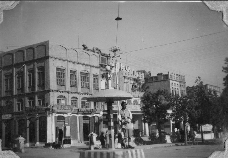 Intersection-of-Kashmir-Road-and-Bank-Road-Rawalpindi-in-1945-46-Old-rare-Pictures-of-Rawalpindi.