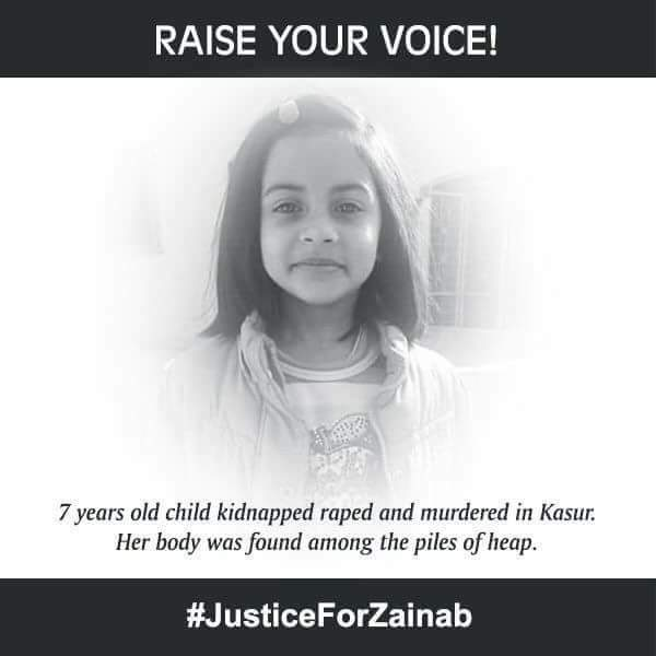 Justice for Zainab.