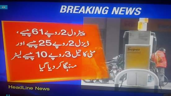 petrol price 2020.