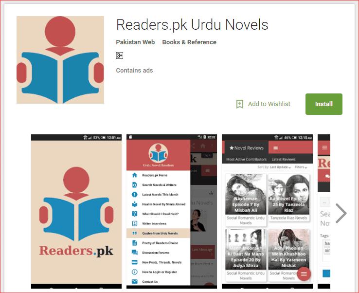 Readers.pk Urdu Novels.