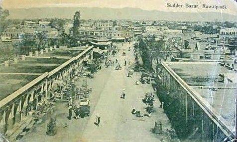 Saddar-Bazar-Rawalpindi-1910.