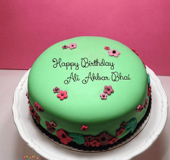 Happy Birthday Ali Akbar Bhai Pakistan Social Web