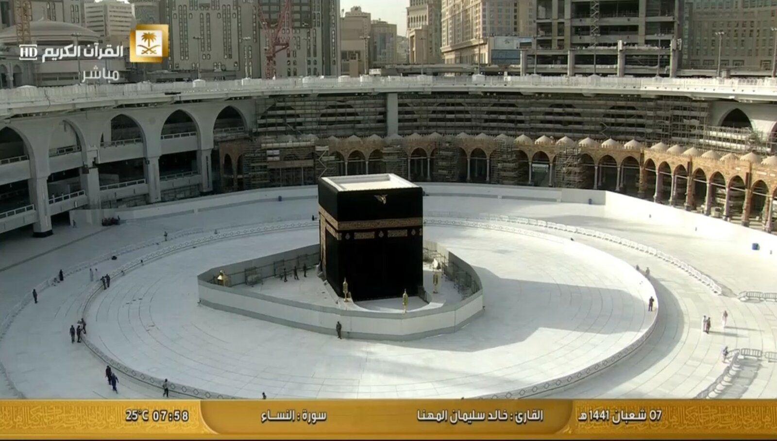 Tawaaf resumes on Mutaaf.jpg