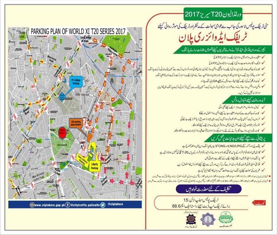 Traffic advisory plan-.