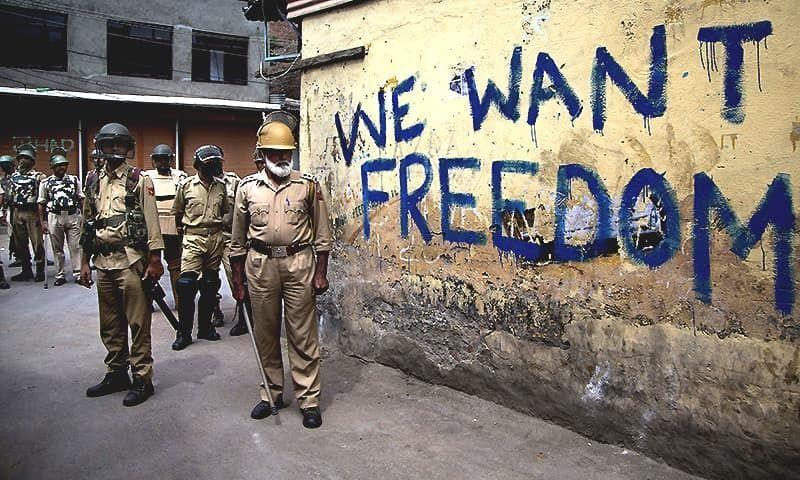 we want freedom.