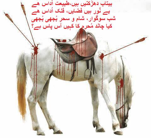 Islamic Poetry - Kia chand Muharram ka kahin aas pas ha